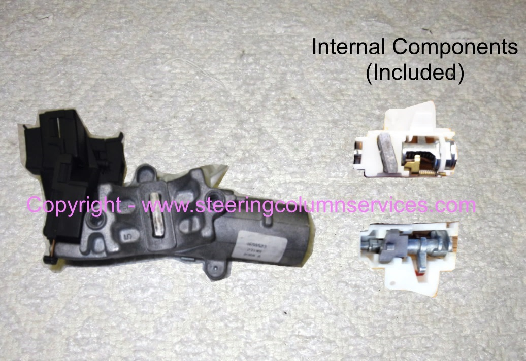 Hsg on Dodge Caravan Ignition Switch Removal