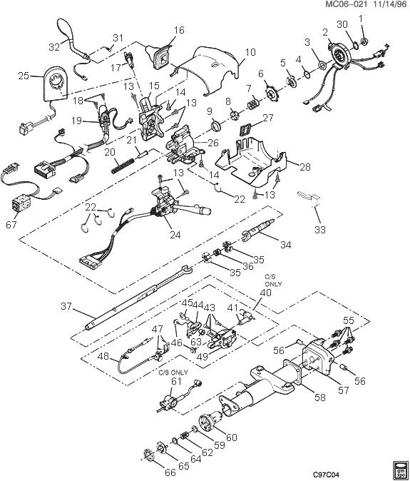 1998 buick park avenue steering diagram  buick  auto parts