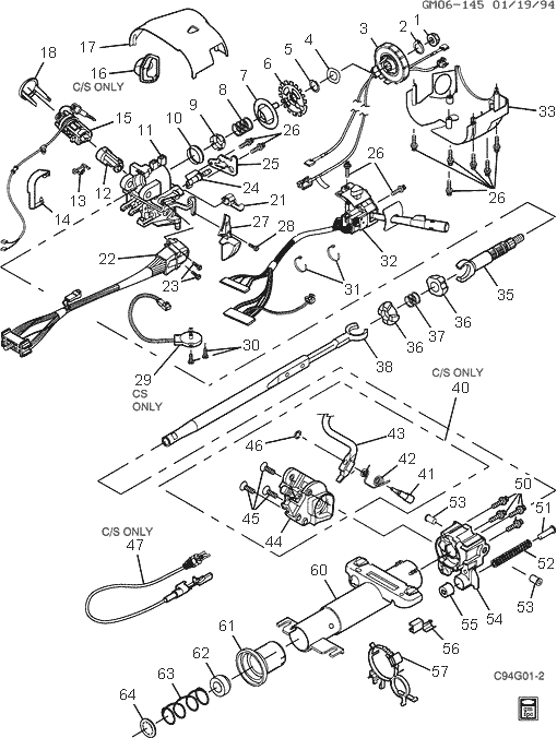 1996 Buick Riviera Engine Diagram