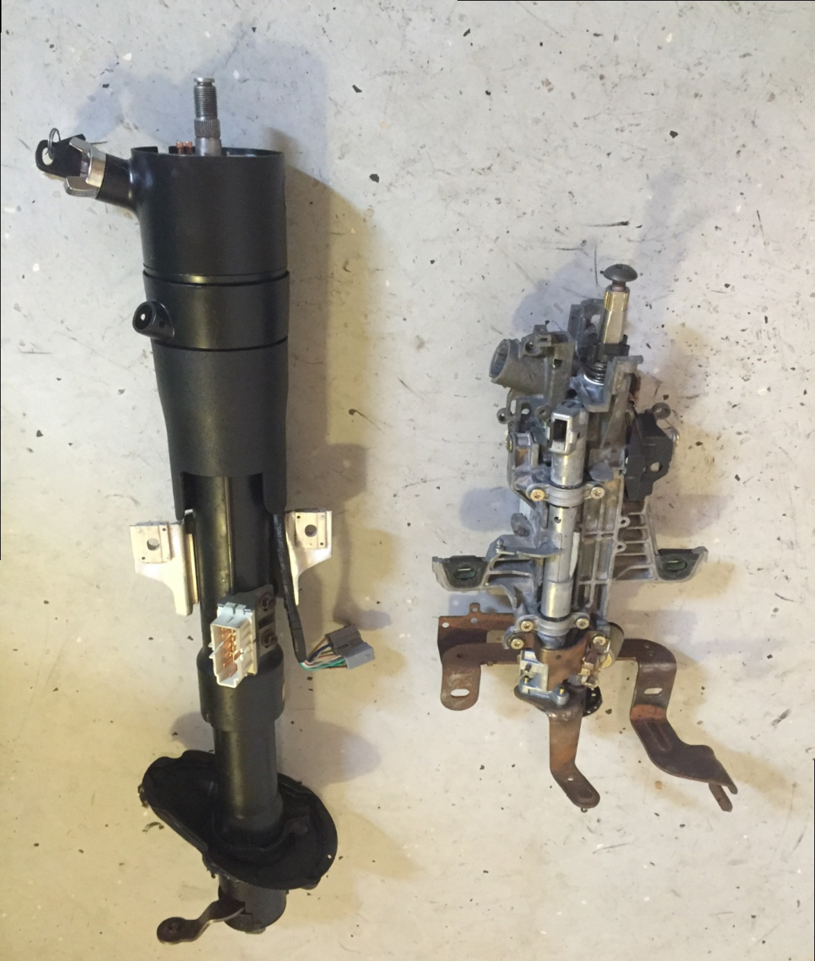 column1a steering column parts, replacement, & how to instructions