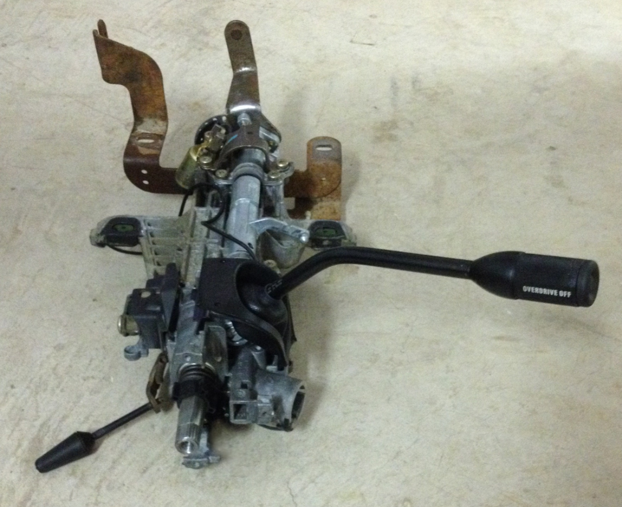 ford f350 steering column diagram