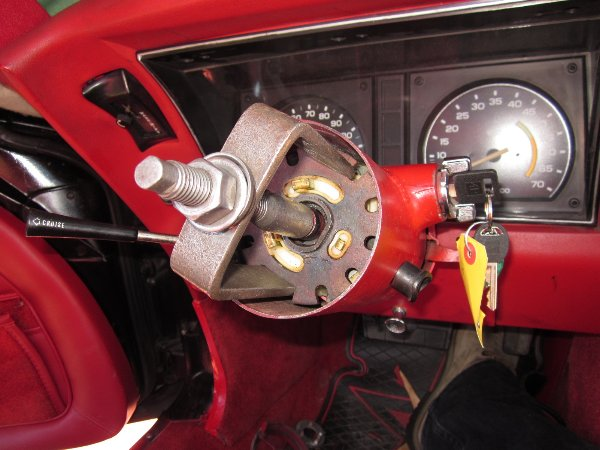 steering column repair instructions for gm buick cadillac